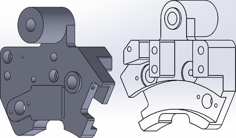 Konstruktion 3D Modelle in CAD